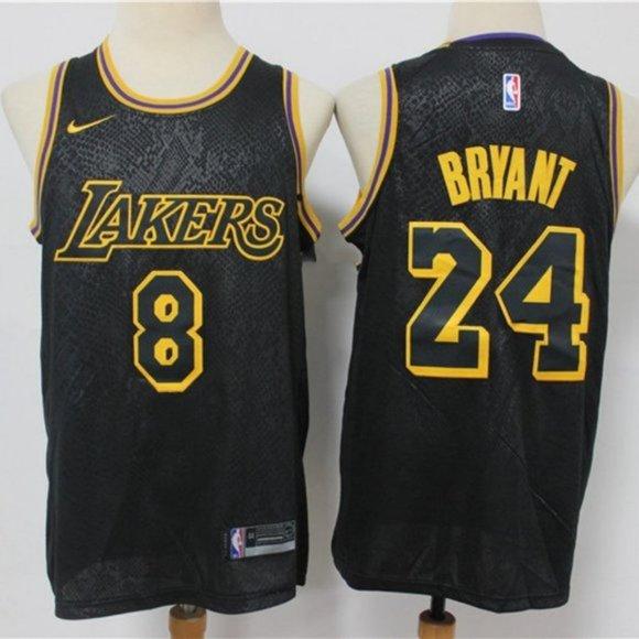 Shirts   Kobe Bryant 8 24 Black Mamba Commemorative Jersey   Poshmark
